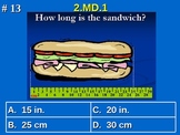 2nd Grade Common Core Math 2 MD.1 Measure and Estimate Lengths