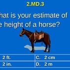 2nd Grade Common Core Math 2 MD.3 Estimate Lengths Using U