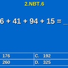 2nd Grade Common Core Math 2 NBT.6 Add Four Two-Digit Numb