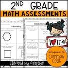 2nd Grade Common Core Math Mini Assessments