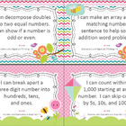 2nd Grade Common Core Math Posters