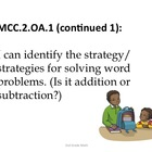 2nd Grade Common Core Math Standards for Posting--Kid Frie
