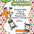 2nd Grade Envision Math Topic 2 Common Core Aligned Additi