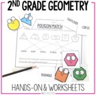 2nd Grade Geometry { Hands-on and Print and Go }
