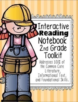 2nd Grade Interactive Reading Notebook {100% Common Core Aligned}