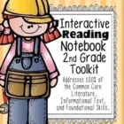 2nd Grade Common Core: Tools for Interactive Reading Noteb