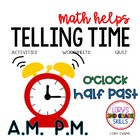 2nd Grade Math Helps - Telling Time to 5 minutes