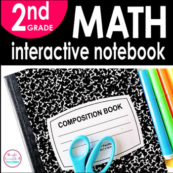 2nd Grade Math Interactive Notebook {Common Core Aligned}