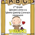 Wonders McGraw-Hill 2nd Grade Differentiated Spelling Home