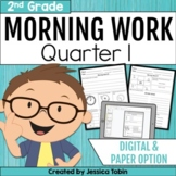 Morning Work for Second Grade Common Core- Set 1 (First Qu