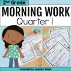 2nd Grade Morning Work for Common Core- Set 1 (First Quart