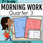 Morning Work for Second Grade Common Core- Set #3 (Third Q