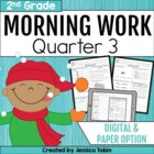 2nd Grade Morning Work for Common Core- Set 3 (Third Quart
