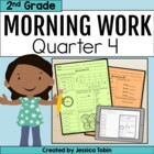 2nd Grade Morning Work for Common Core- Set 4 (Fourth Quar