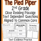 Dollar Deal: 2nd Grade Passage: Common Core Assessment, Cl