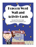 2nd Grade Popcorn Word Wall and Activities