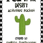 2nd Grade Reading Street Unit 1.4 A Walk in the Desert Packet