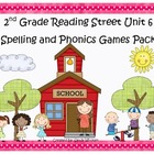 Reading Street 2nd Grade Unit 6 Spelling and Phonics Game