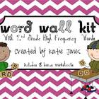 2nd Grade Word Wall Kit
