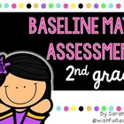 2nd grade Beginning of the Year CCSS Math Assessment