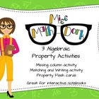 3 Algebraic Property Activities Bundle