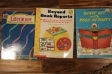 3 Books For Book Report and Literature Circle Ideas