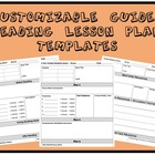 3 Customizable Guided Reading Lesson Plan Templates