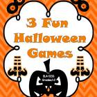 3 Fun Halloween Games