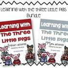 3 Little Pigs Literacy and Math