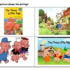 3 Little Pigs Story Elements Review