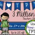 3 Million Teachers Strong Button for Sale (Freebie)
