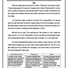 3 Oral Reading Fluency Passage - 3rd Grade