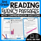 3rd Grade - 30 Reading Fluency and Comprehension Passages