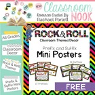 31 Prefix and Suffix Mini Posters with Definitions (Rock a