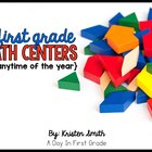 33 Math Centers for Anytime of the Year!! {Aligned to the