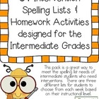 34 Intervention Spelling Lists & Activities Designed for I