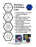 3D Illusion Cubes task card