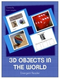 3D Objects Emergent Reader Book