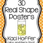 3D Real Shapes Poster {Little Polka Dots}