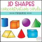 FREE 3D Shapes Concentration