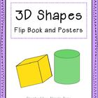 3D Shapes Flip Book