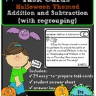 3.NBT.2 Halloween Task Cards {Common Core, Math, 3rd Grade