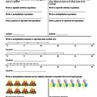 (3.OA.1) Products -3rd Grade Common Core Math Worksheets -