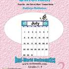 3rd, 4th, 5th Grade Math Worksheets - Calendar Math