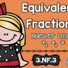 3rd Grade CCSS NF.3 Equivalent Fractions: Math Tasks, Exit
