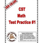 3rd Grade CST Math Standardized Test Practice #1
