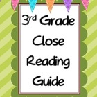 3rd Grade Close Reading Guide