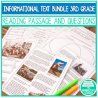 3rd Grade Common Core: Informational Texts (Standards RI.3