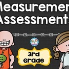 Measurement Formative Assessments and Tests for Third Grad