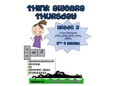 3rd Grade Common Core Math Review:  Think Algebra Thursday